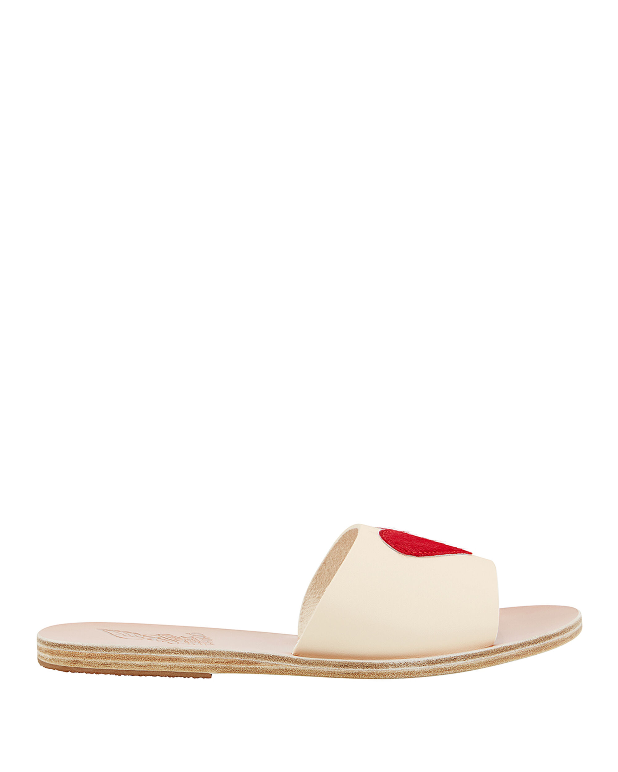 Taygete Eros Red Sandals, WHITE, hi-res