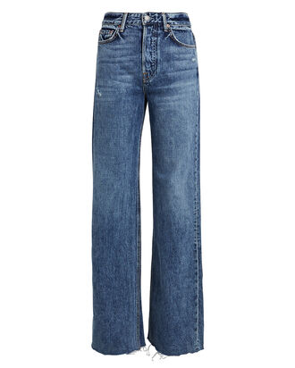Carla High-Rise Flared Jeans, DENIM, hi-res
