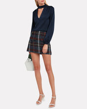 Lucy Rustic Plaid Mini Skirt, MULTI, hi-res