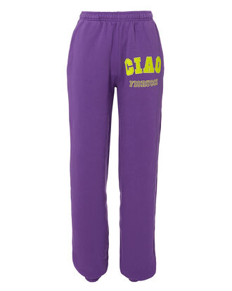 Ciao Purple Sweatpants, PURPLE, hi-res