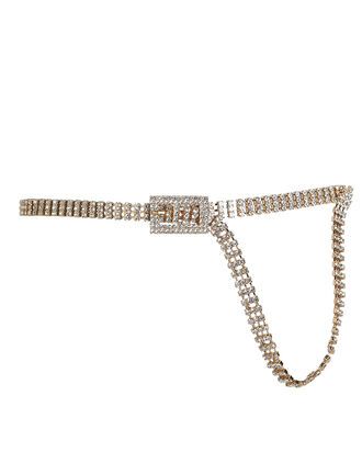 Baby Farah Crystal Belt, GOLD, hi-res