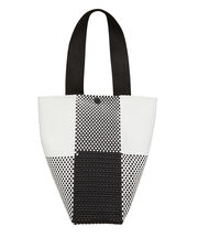 Black And White Le Sac Tote, BLK/WHT, hi-res