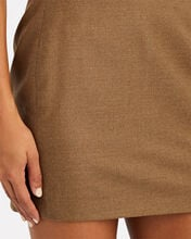 Lapaz Wool-Cashmere Mini Skirt, BEIGE, hi-res