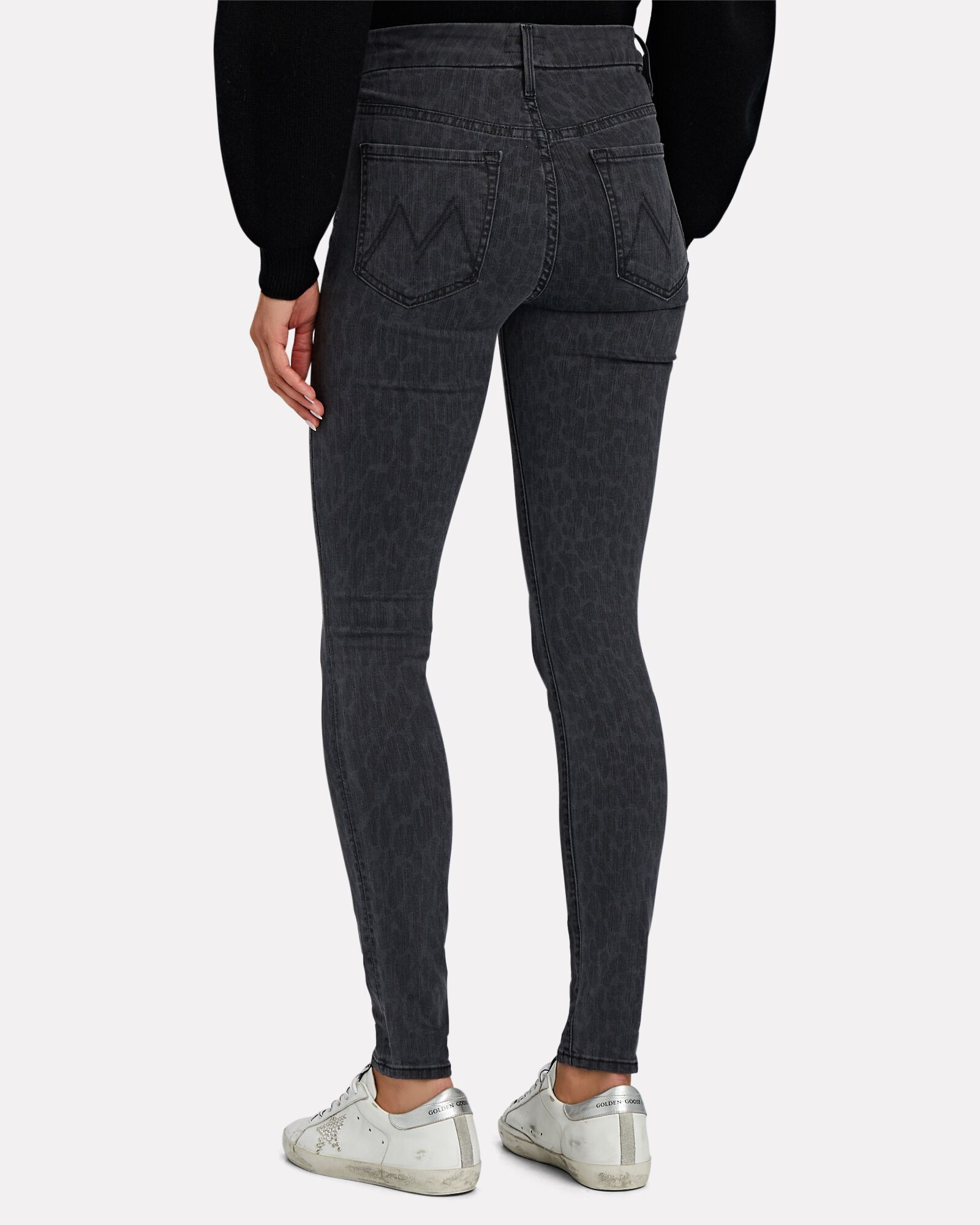 The Looker High-Waist Skinny Jeans, BLACK, hi-res