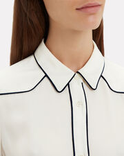 Western Blouse, IVORY, hi-res