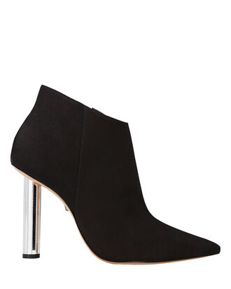 Elon Crystal Heel Booties, BLACK, hi-res