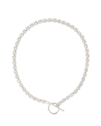 Crystal Strand Toggle Necklace, , hi-res