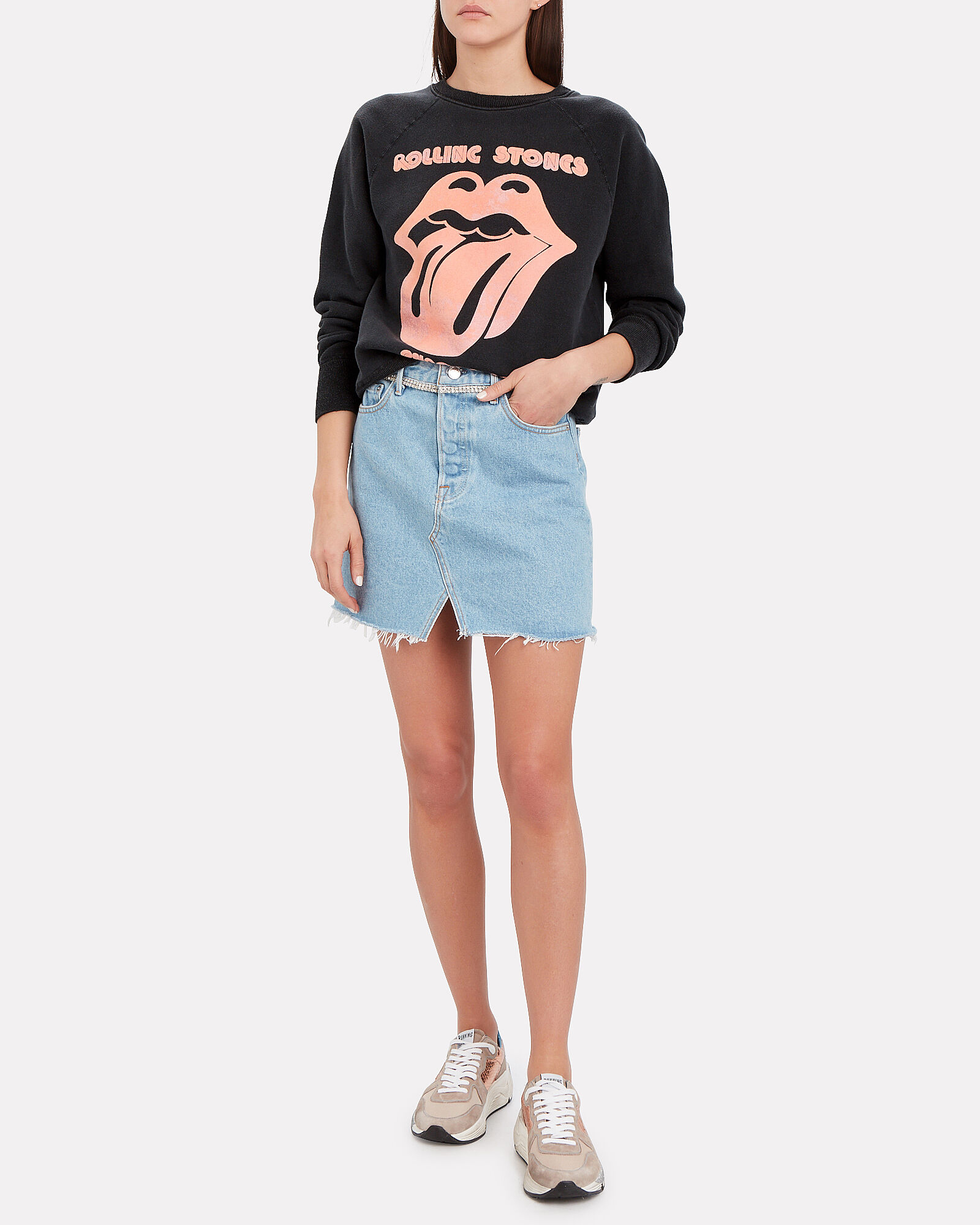 Rolling Stones 1982 Tour Sweatshirt, BLACK, hi-res
