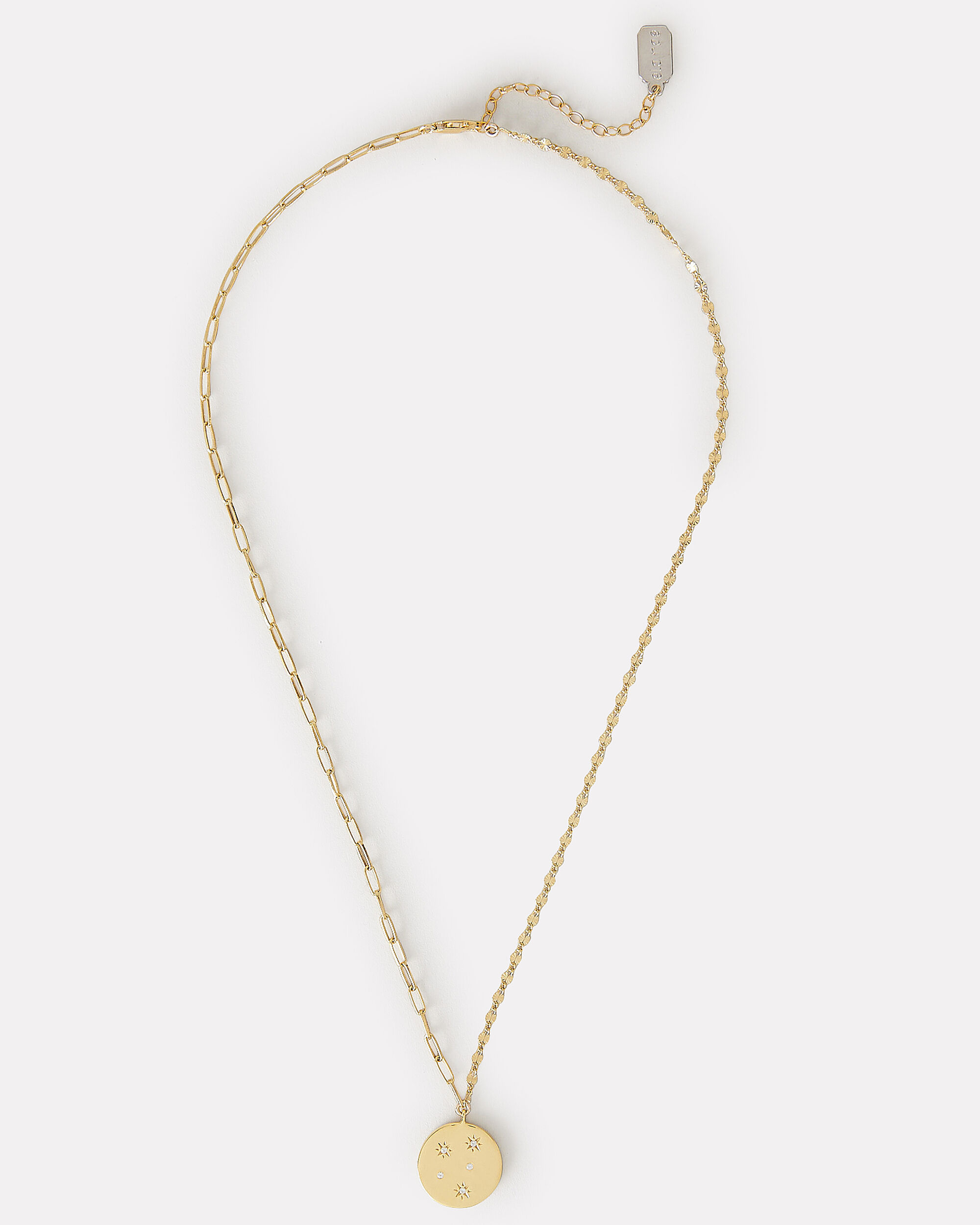 The Lara Starbust Chain Necklace, GOLD, hi-res
