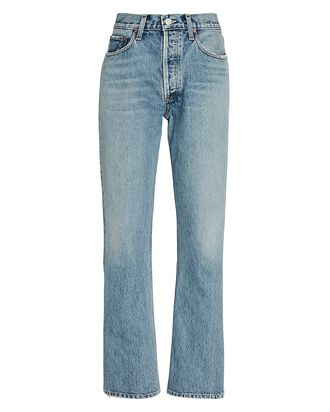 Relaxed High-Rise Bootcut Jeans, WIRELESS, hi-res
