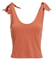 Maria Tie Shoulder Top, ROSE, hi-res