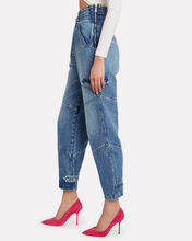Dallas High-Waist Relaxed Jeans, LIGHT WASH BLUE, hi-res