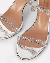Heaven 75 Crystal PVC Sandals, SILVER, hi-res