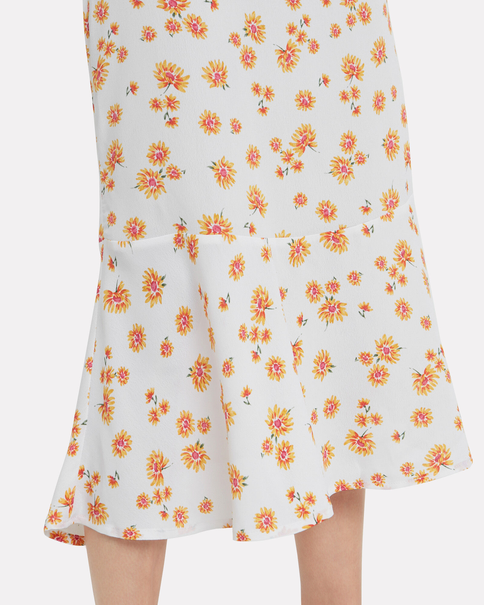 Mace Daisy Slip Dress, WHITE/FLORAL, hi-res