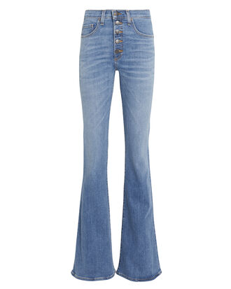 Beverly Flare Jeans, MEDIUM WASH DENIM, hi-res