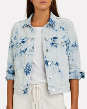 Kinley Tie-Dyed Denim Jacket, MULTI, hi-res