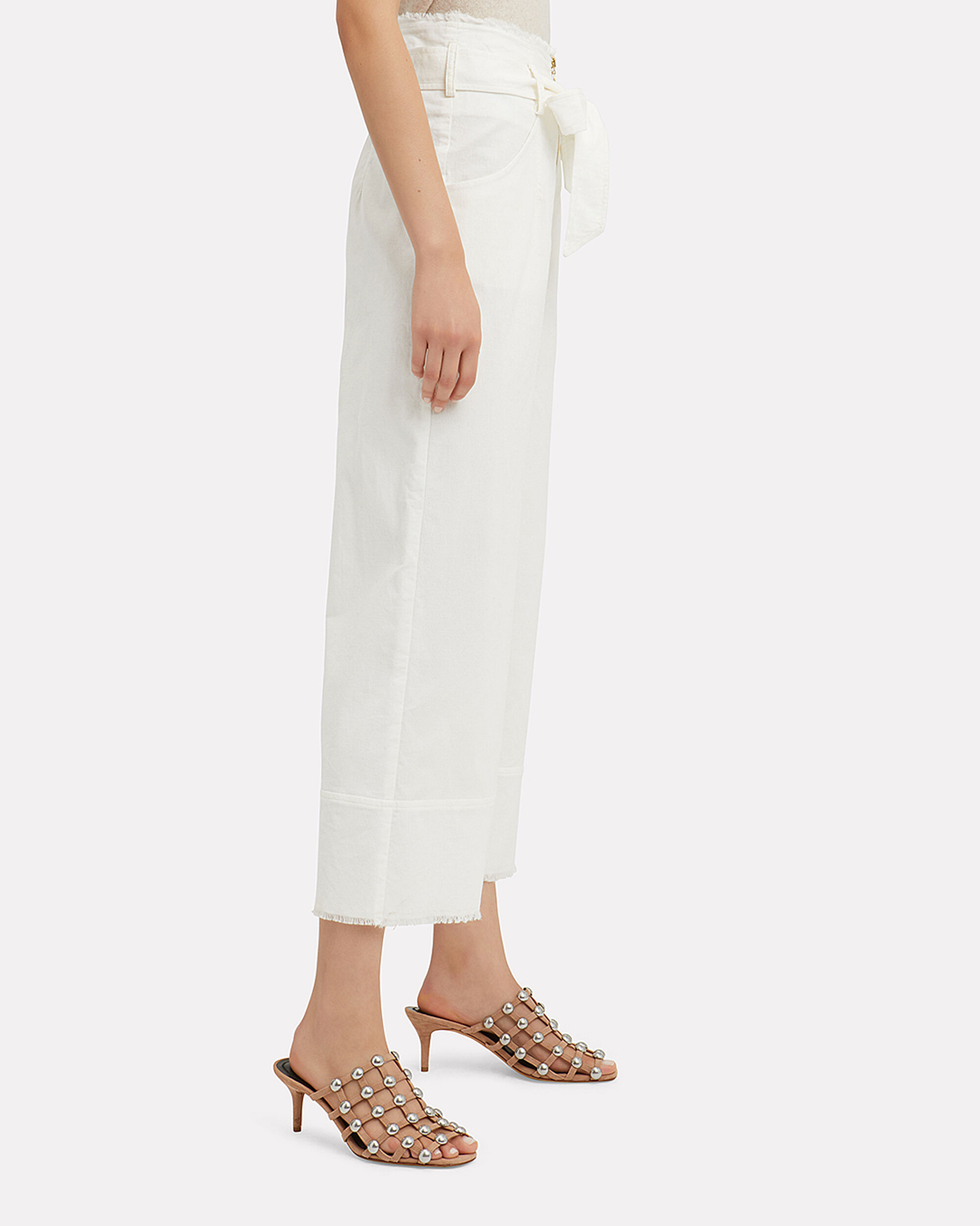 Julia Corduroy Wide Leg Pants, BEIGE, hi-res