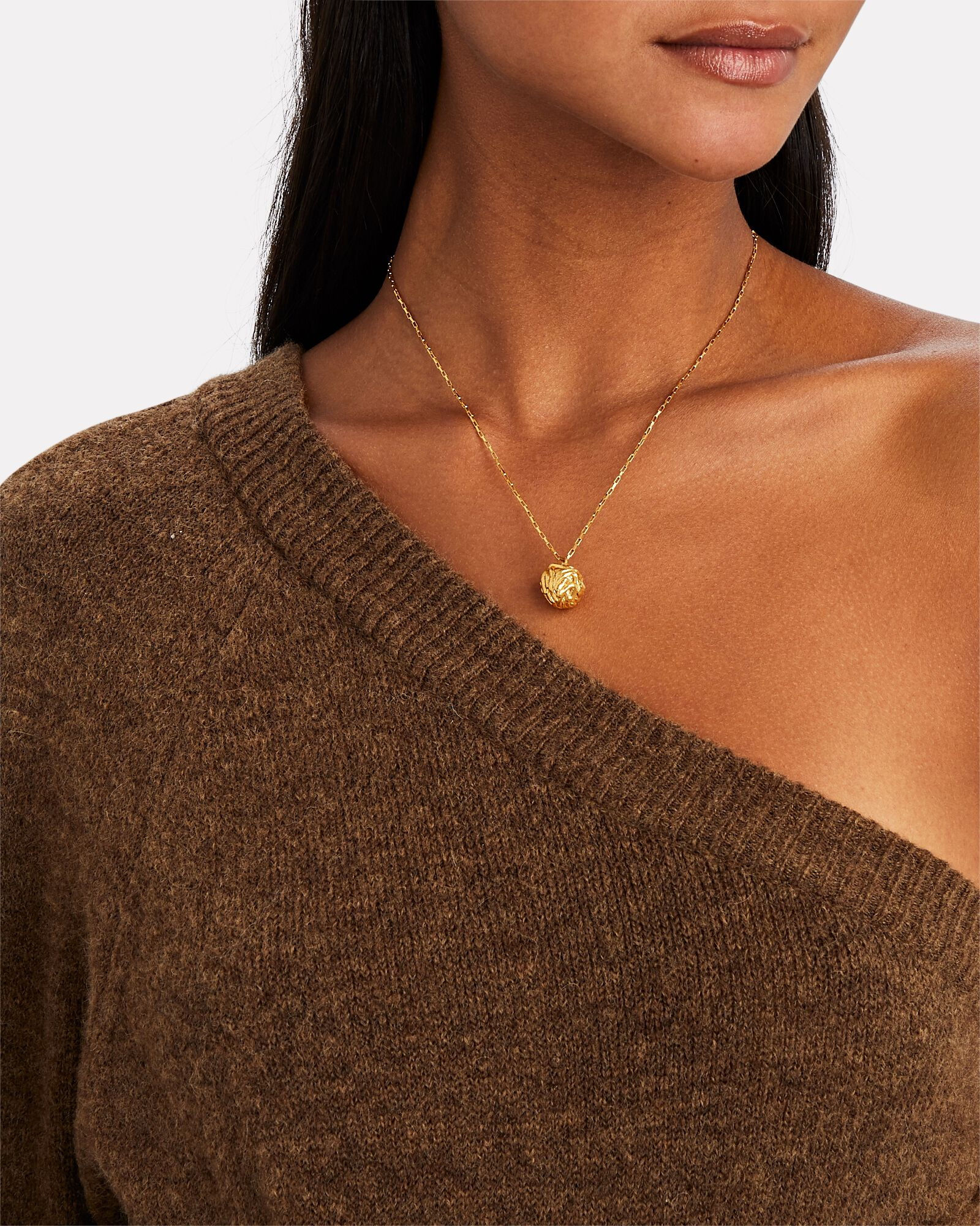 The Unfolding Reverie, Chapter i Necklace, GOLD, hi-res