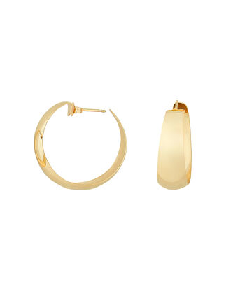 Dome Hoops, GOLD, hi-res