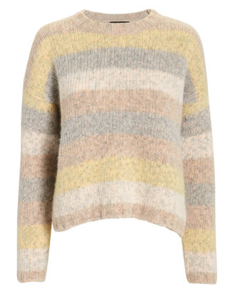 Henrietta Striped Sweater, TAN, hi-res
