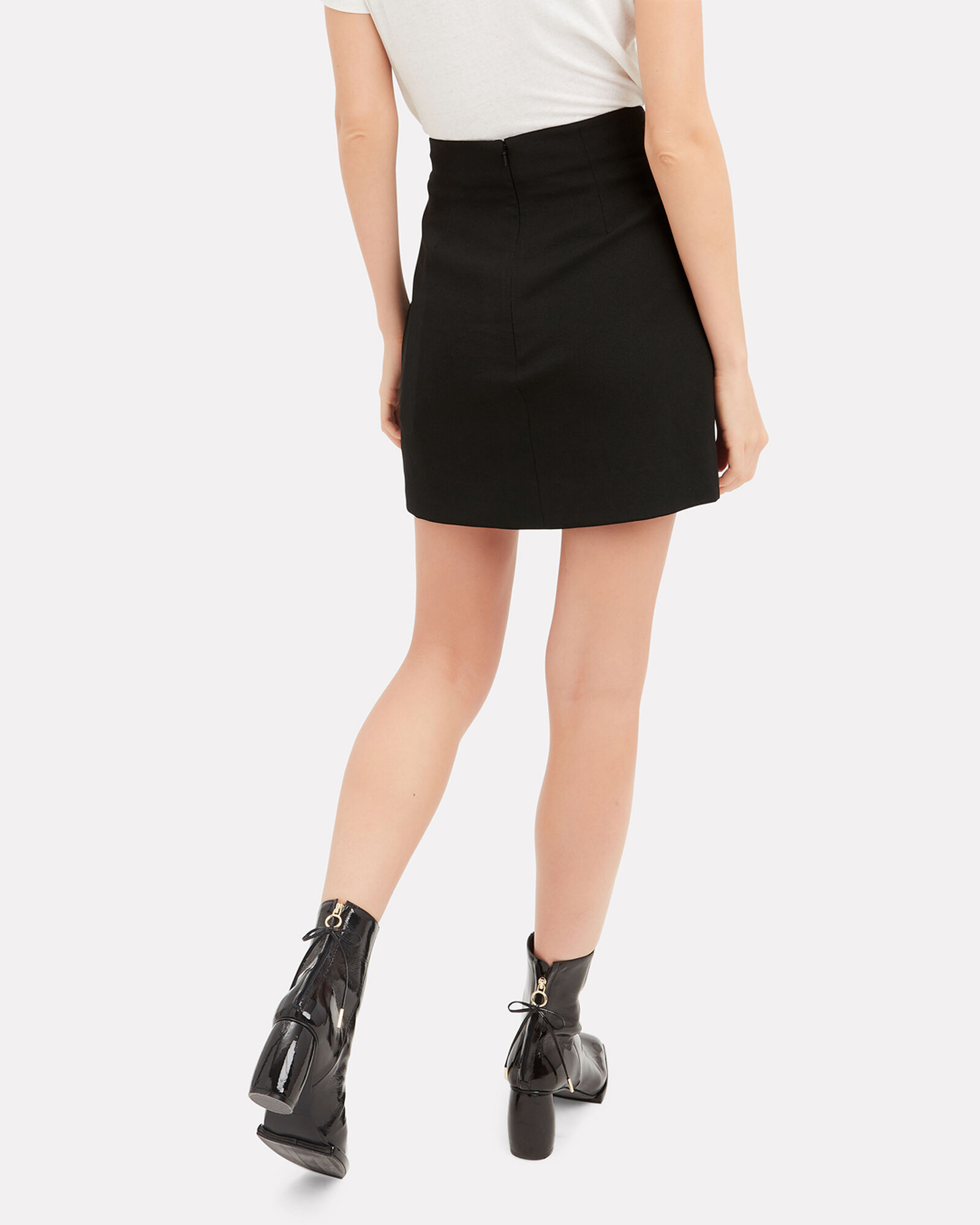 Who Is This Mini Skirt, BLACK, hi-res
