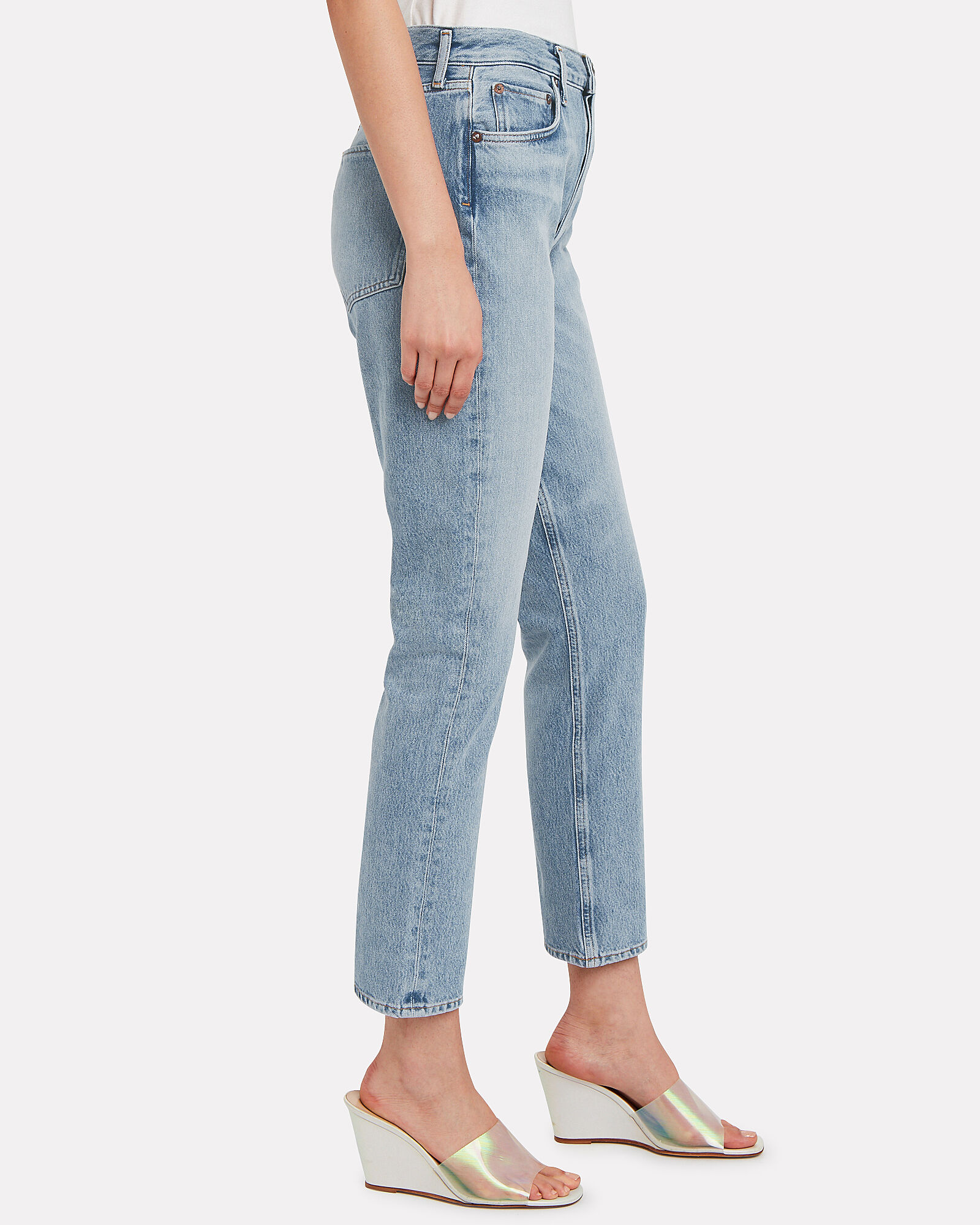 Remy High-Rise Straight Jeans, DENIM-LT, hi-res