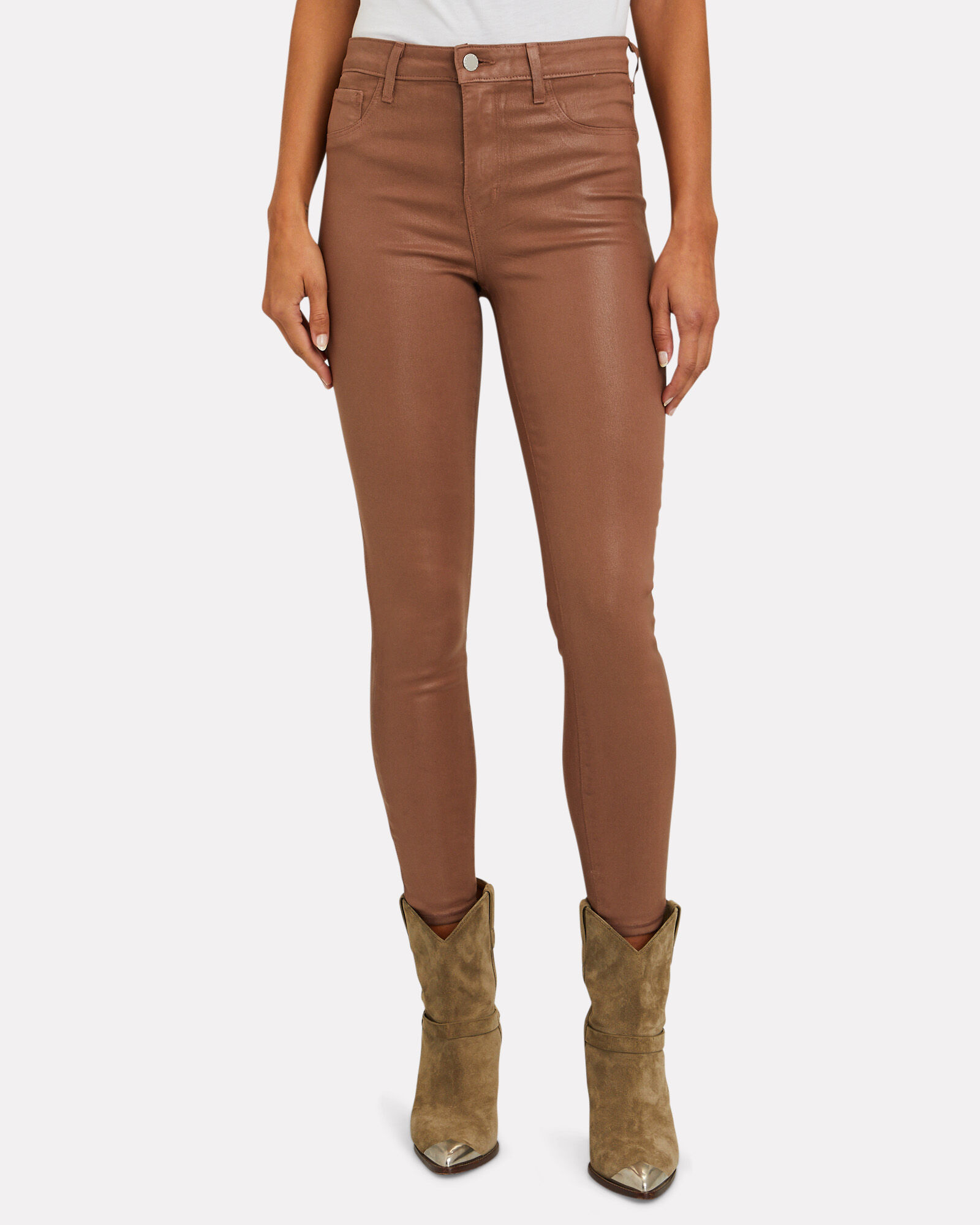 Margot Coated Skinny Jeans, Sparrow, hi-res