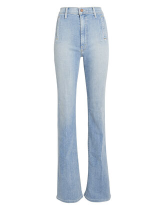 The Drama Flared Jeans, LIGHT BLUE DENIM, hi-res