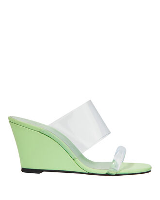 Olympia Keylime Wedge Sandals, GREEN-LT, hi-res
