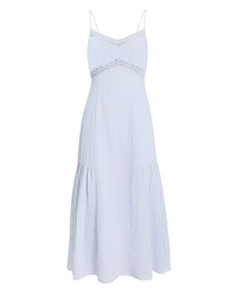 Marina Cotton Lace Dress, BLUE-LT, hi-res