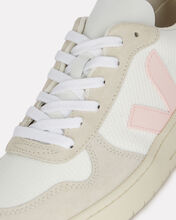V-10 Low-Top Sneakers, WHITE/PINK, hi-res