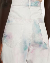 Corfy Tapered Tie-Dye Jeans, GREY, hi-res