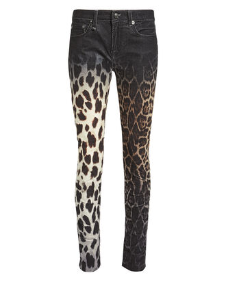 Alison Mix Print Skinny Jeans, BLACK/FADED LEOPARD, hi-res