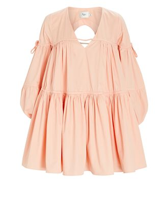Overture Tiered Mini Dress, PINK, hi-res