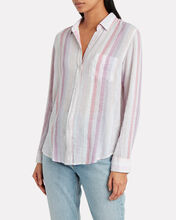 Charli Sahara Stripe Button Down, MULTI, hi-res