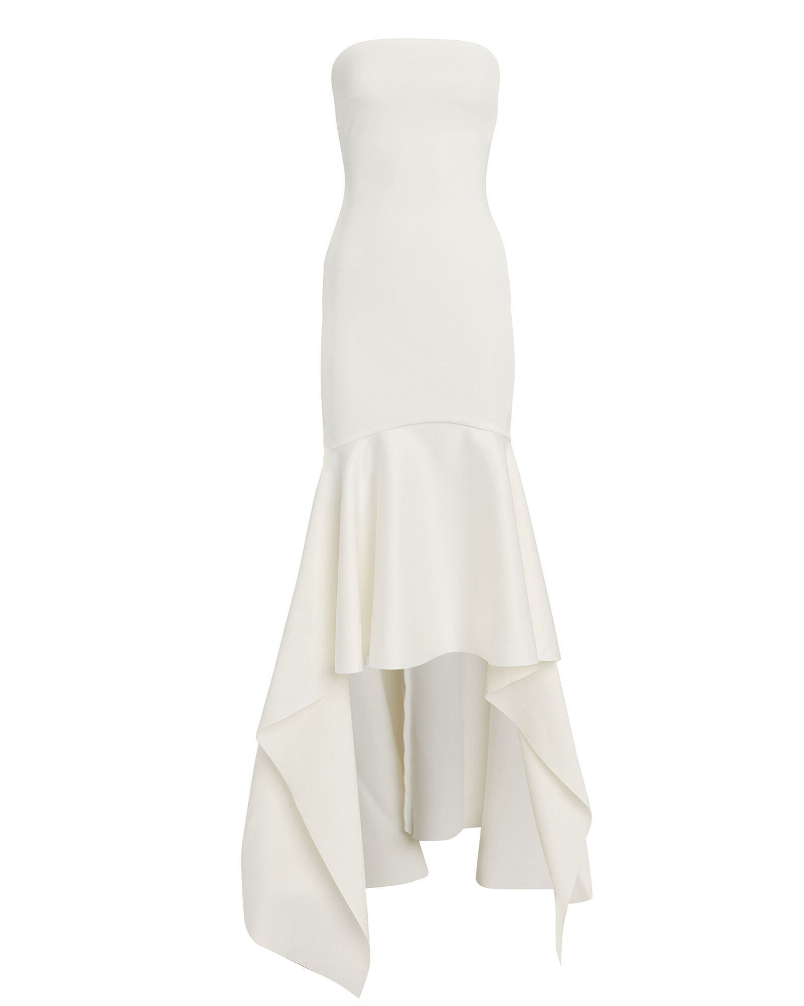 Kerama Strapless High Low Gown, IVORY, hi-res