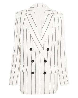 Ryan Striped Double-Breasted Blazer, MULTI, hi-res