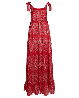 Bardot Printed Maxi Dress, MULTI, hi-res