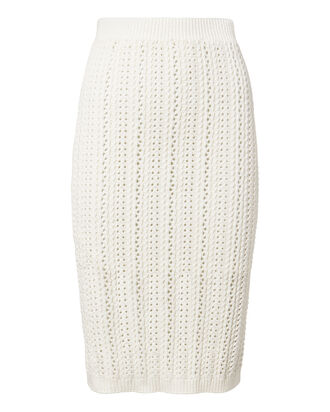 Adelina Crochet Knit Skirt, , hi-res