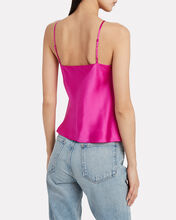 Fayette Cowl Neck Silk Camisole, PINK, hi-res