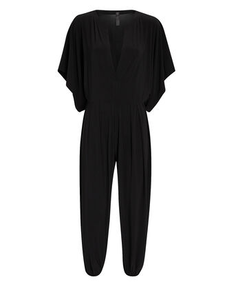Rectangle Jog Cropped Jumpsuit, , hi-res