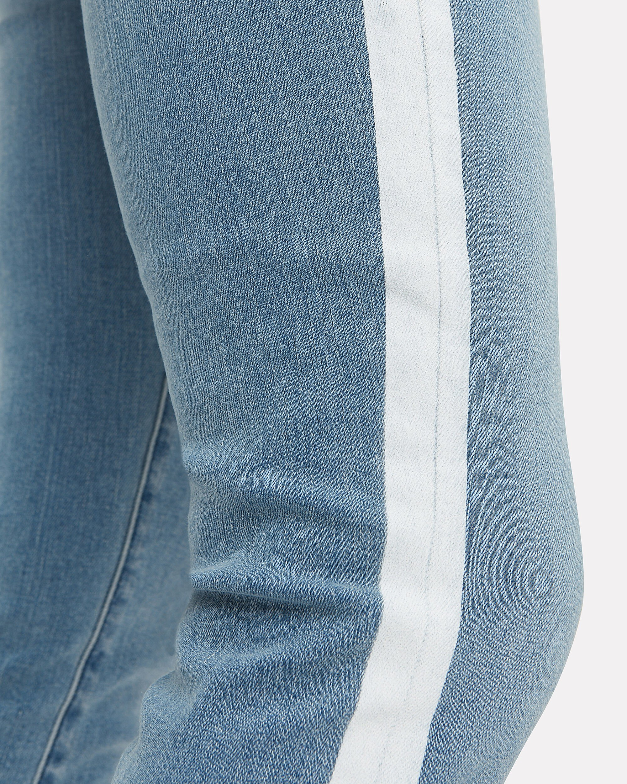 Mid Rise Stripe Jeans, BLUE DENIM/WHITE, hi-res