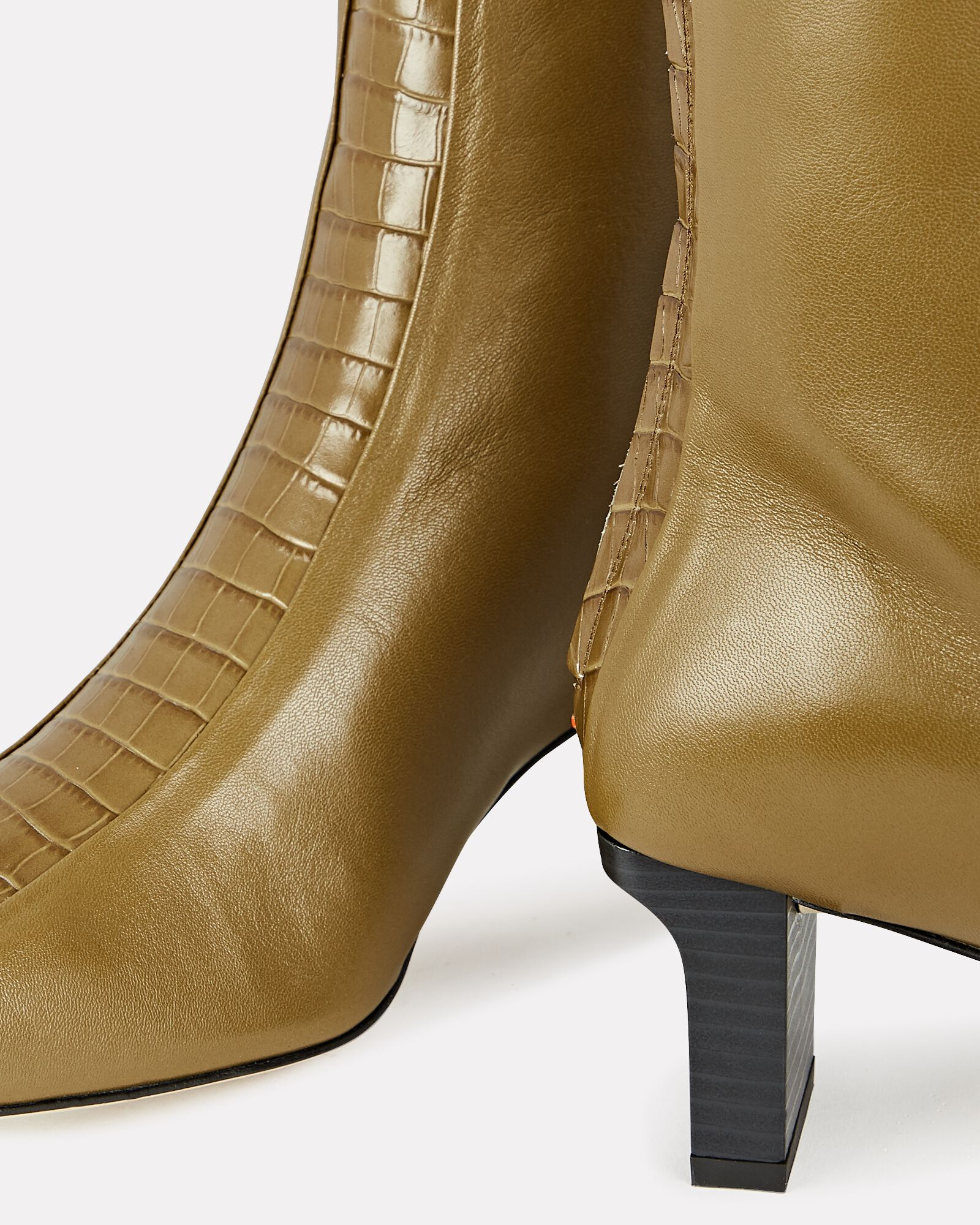 Molly Leather Ankle Boots, BROWN, hi-res