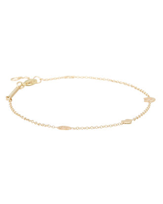 Itty Bitty Evil Eye Bracelet, GOLD, hi-res