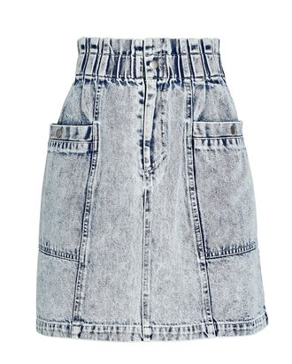 Betty Acid Wash Denim Skirt, ACID WASH DENIM, hi-res