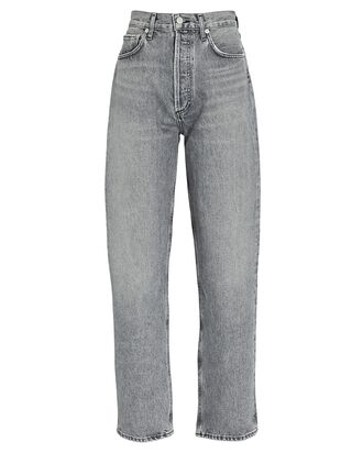 Fitted 90s Straight-Leg Jeans, NARRATIVE, hi-res