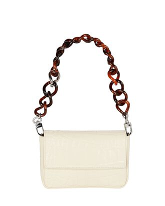 Mini Tommy Embossed Leather Bag, IVORY, hi-res