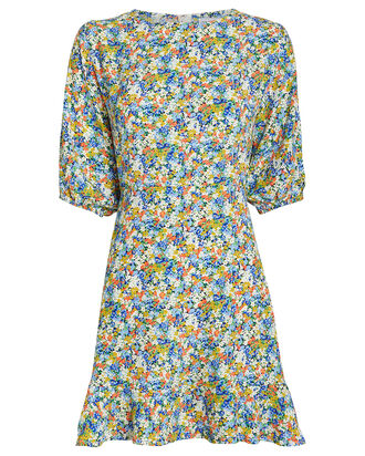 Jeanette Vionette Floral Dress, MULTI, hi-res