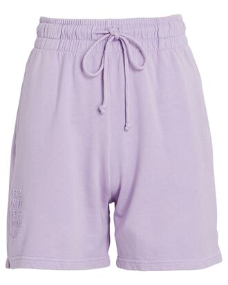 Burl Cotton Sweat Shorts, LIGHT PURPLE, hi-res