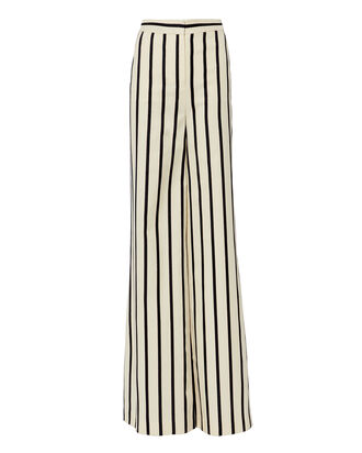 Xena Striped Wide Leg Pants, WHITE, hi-res